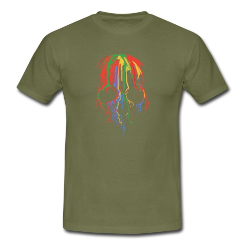 Skull and Colours - Camiseta hombre