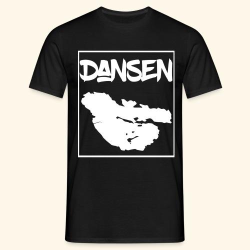DansenKartaVit - T-shirt herr