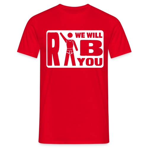 finerib we will ripp you 1 - Männer T-Shirt