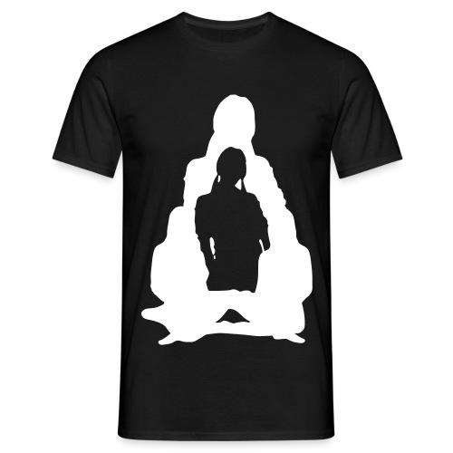 beatnik girl logo 1 - Men's T-Shirt