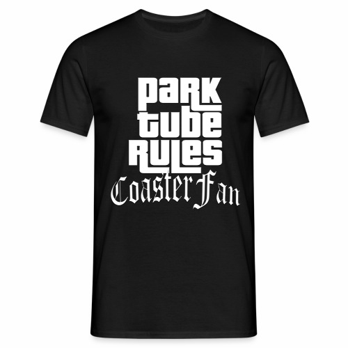ParkTube Rules GTA Style - Männer T-Shirt