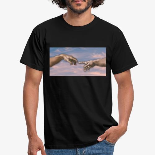 Hand of God png - Männer T-Shirt