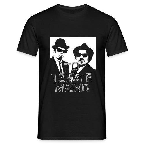 To Tørste Mænd gjs png - T-skjorte for menn
