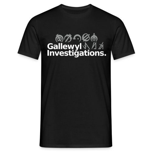 Gallewyl Investigations - Men's T-Shirt