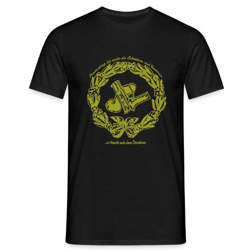 knarre und penis - Männer T-Shirt