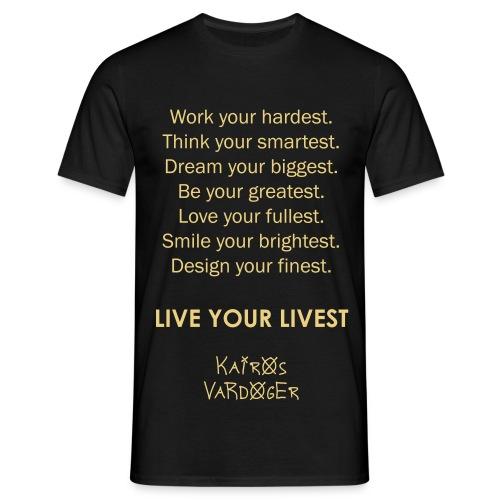 Kairos Vardoger - Mannen T-shirt