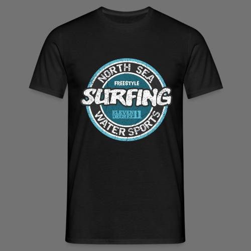 North Sea Surfing (oldstyle) - Miesten t-paita