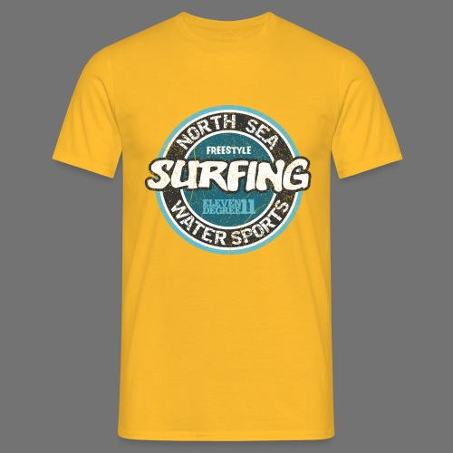North Sea Surfing (oldstyle) - Men's T-Shirt