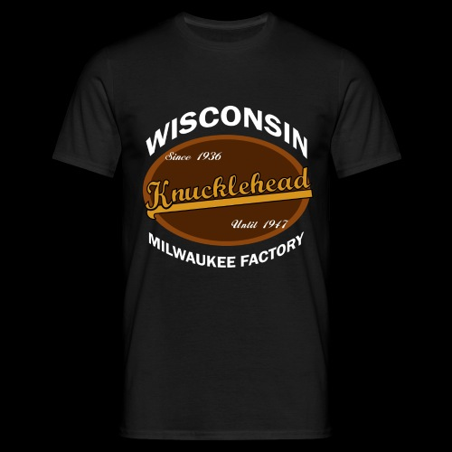 Milwaukee Knucklehead - Männer T-Shirt