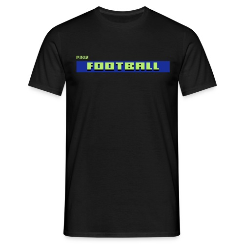 TV Text Football - Men's T-Shirt