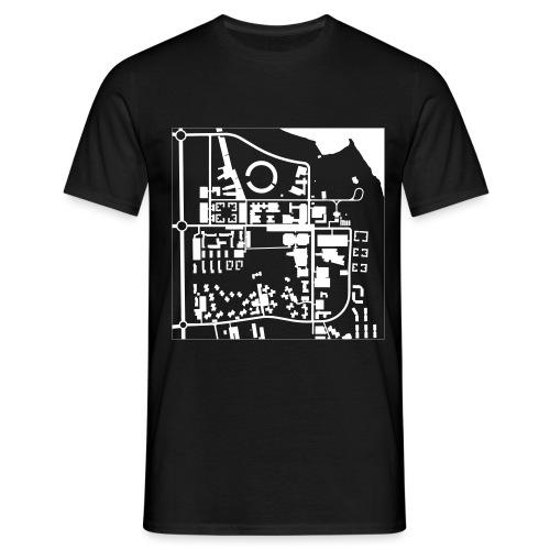 Växjö Campus Map - T-shirt herr