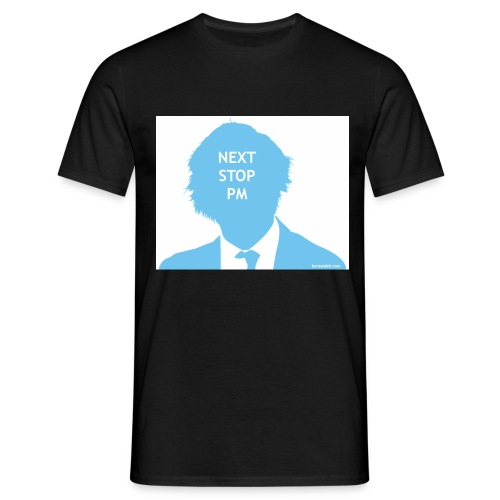 Next Stop PM Blue - Men's T-Shirt