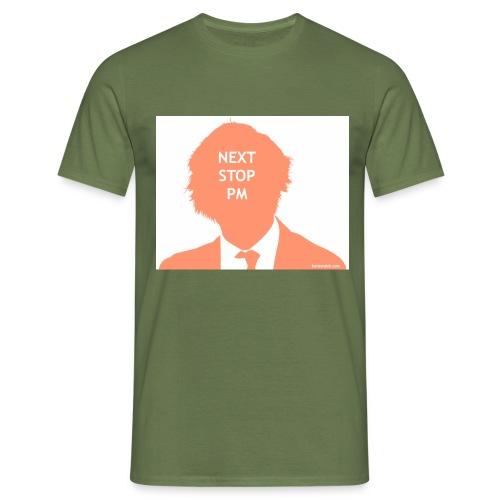 Next Stop PM Orange - Men's T-Shirt