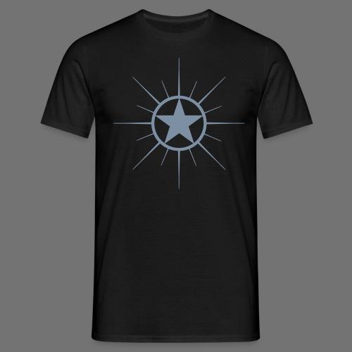 Stjerne jet - Herre-T-shirt