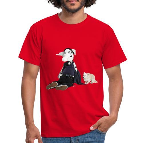 Glaube und Wahrheit - Türsteher Kalle und Dio - Männer T-Shirt