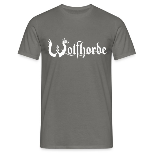 wolfhorde vector black - Men's T-Shirt