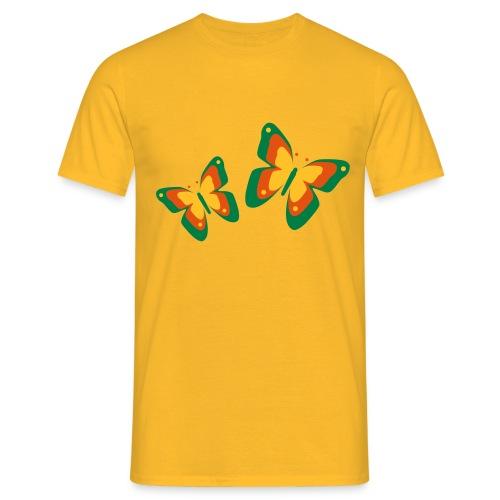 Schmetterlinge Falter Insekten Frühling Sommer - Men's T-Shirt