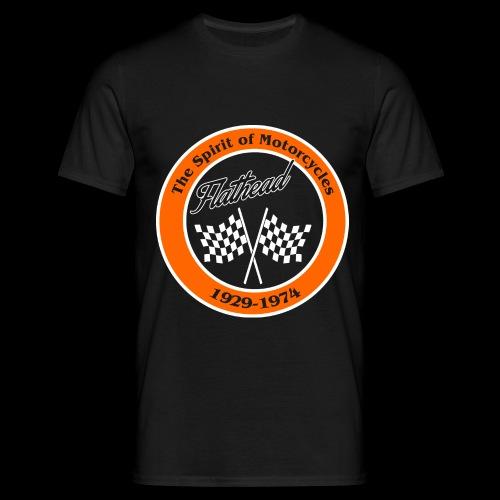 flat_zielflagge - Männer T-Shirt