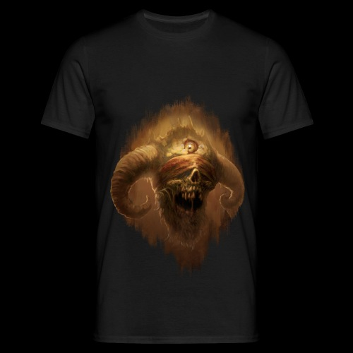 Horned Scream - Men's T-Shirt