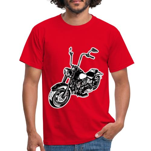 Moto Softail - Camiseta hombre