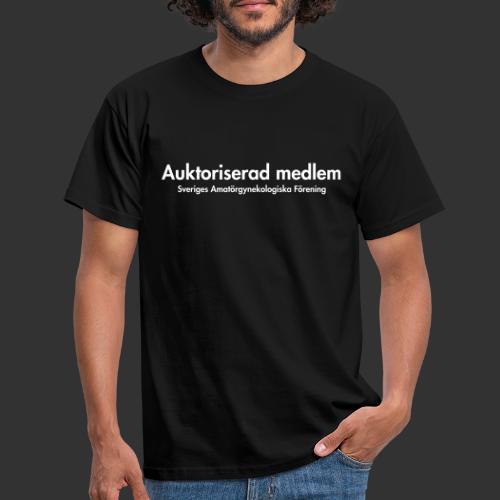naken auktoriseradmedlem - T-shirt herr
