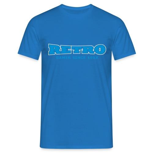retrogamer since - Men's T-Shirt