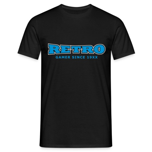 retrogamer since - Men's T-Shirt