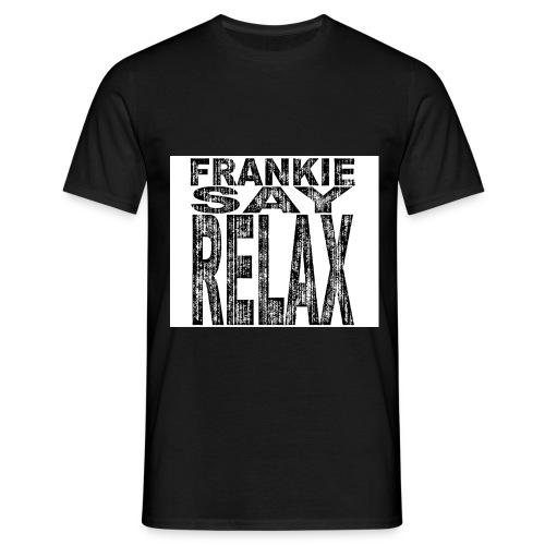 frankiesayrelaxslitent - T-skjorte for menn