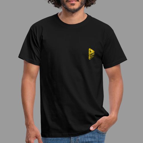 Flammen gold - Männer T-Shirt