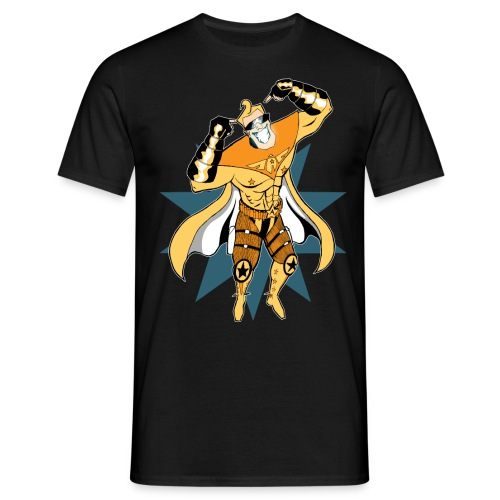 01 CaptainAwesome png - Männer T-Shirt