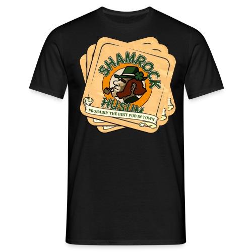 Shamrock Husum Logo Bierdeckel - Männer T-Shirt