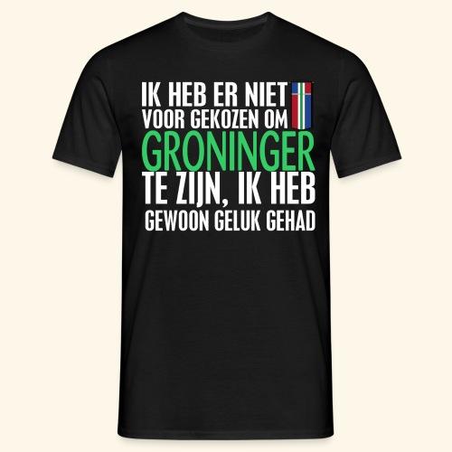 Heb er niet voor gekozen om Groninger te zijn... - Men's T-Shirt
