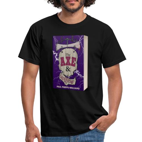The Axe & Grindstone Cover - Men's T-Shirt
