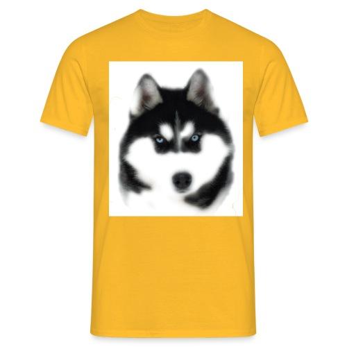 Siberian Husky Head - Männer T-Shirt