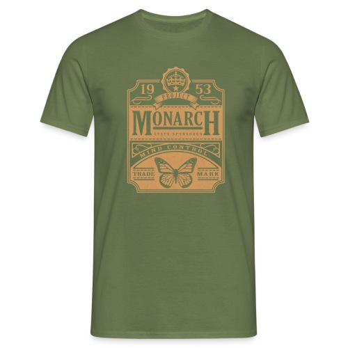 MONARCH VINTAGE GOLD - Men's T-Shirt