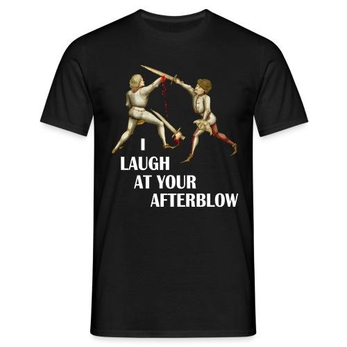 laugh afterblow 3 - Men's T-Shirt