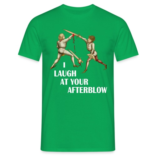 laugh afterblow 3 - Men's T-Shirt