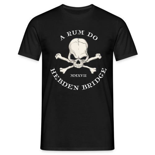 Rum Do Skull - Men's T-Shirt