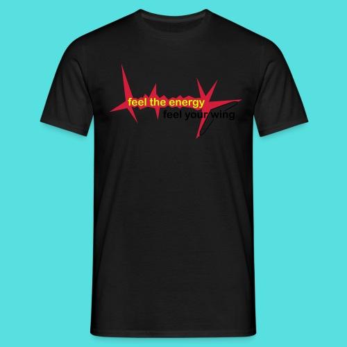 feel_the_energy - Männer T-Shirt
