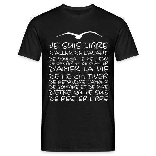 J SUIS LIBRE - T-shirt Homme