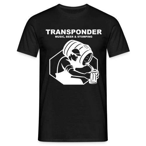 Transponder Music Beer Stomping - Männer T-Shirt
