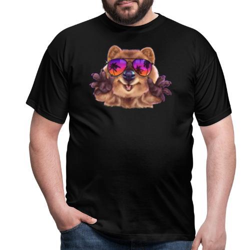 Cooler Quokka - Männer T-Shirt