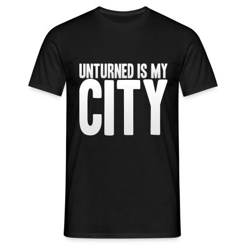 Unturned is my city - Men's T-Shirt