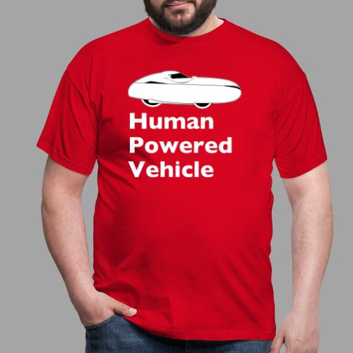 Quest Human Powered Vehicle 2 white - Miesten t-paita