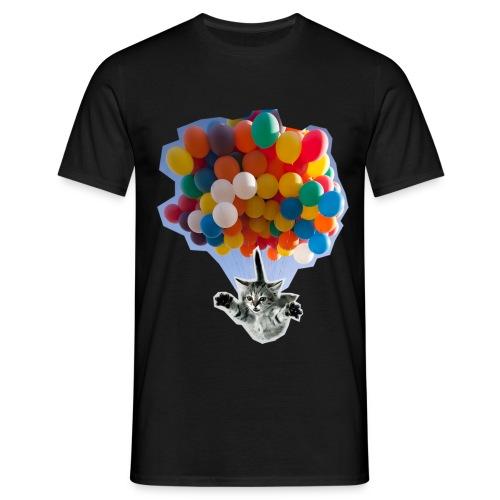 Balloon Cat - Men's T-Shirt