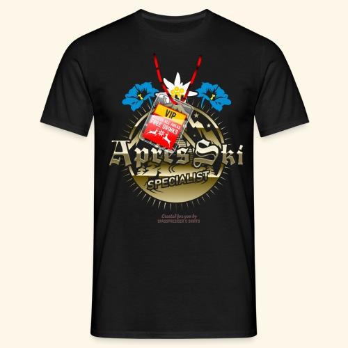 Apres Ski Specialist T Shirt Design - Männer T-Shirt