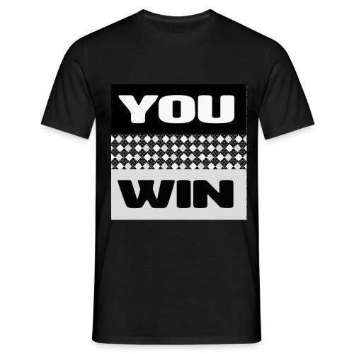 you win 7 - Men's T-Shirt