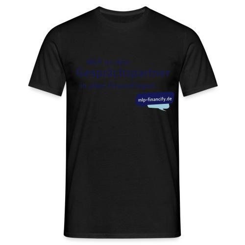 Grafik-Shirt-hellblau - Männer T-Shirt