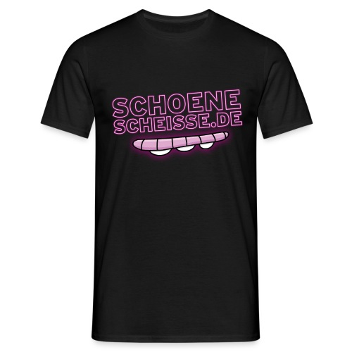 Schoenescheisse.de - Männer T-Shirt