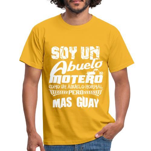Soy un abuelo motero - Camiseta hombre